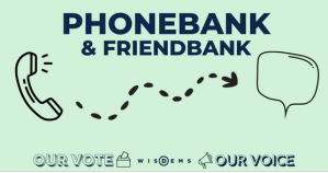 Phonebank for Wisconsin Poll Workers @ Computer and Phone Access