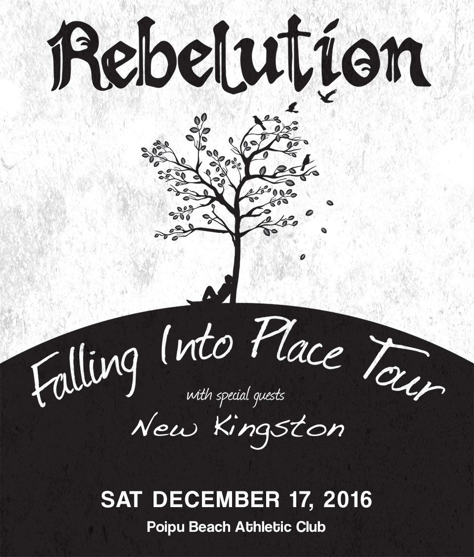 Rebelution Falling Into Place Tour