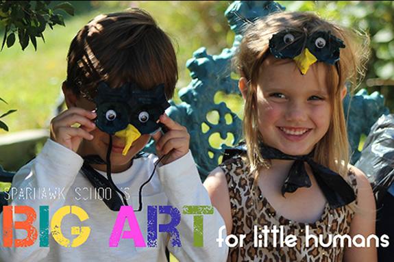 Sparhawk School: Big Art For Little Humans
