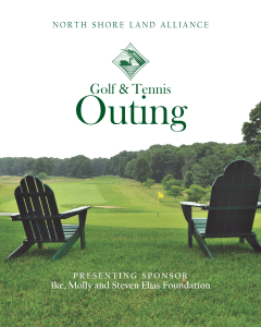 North Shore Land Alliance 2021 Golf and Tennis Outing
