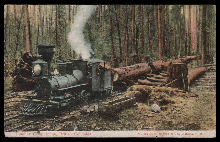 Nanaimo Lumber Postcard