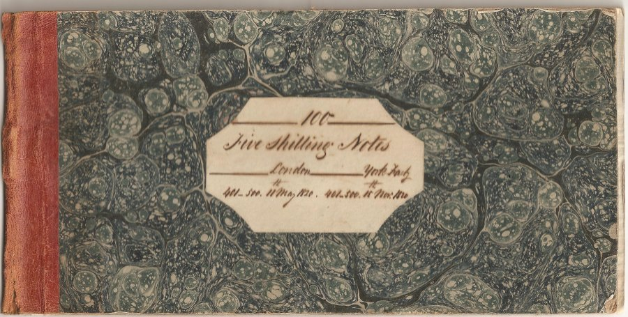 HBC 5 Shilling York Factory binder only 001