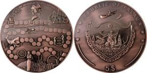 Palau 2015 Game Coin