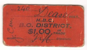 HBC BC District Scrip