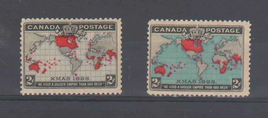 1898 Canada Christmas Stamp