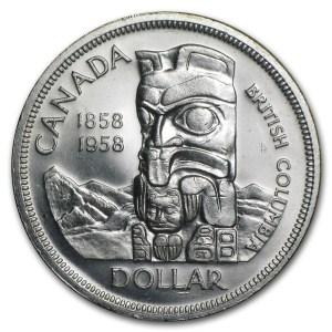 1958 British Columbia dollar