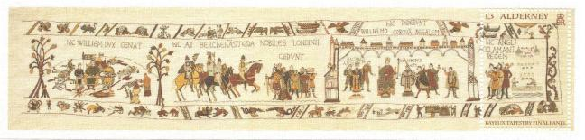Bayeux Tapestry Stamp