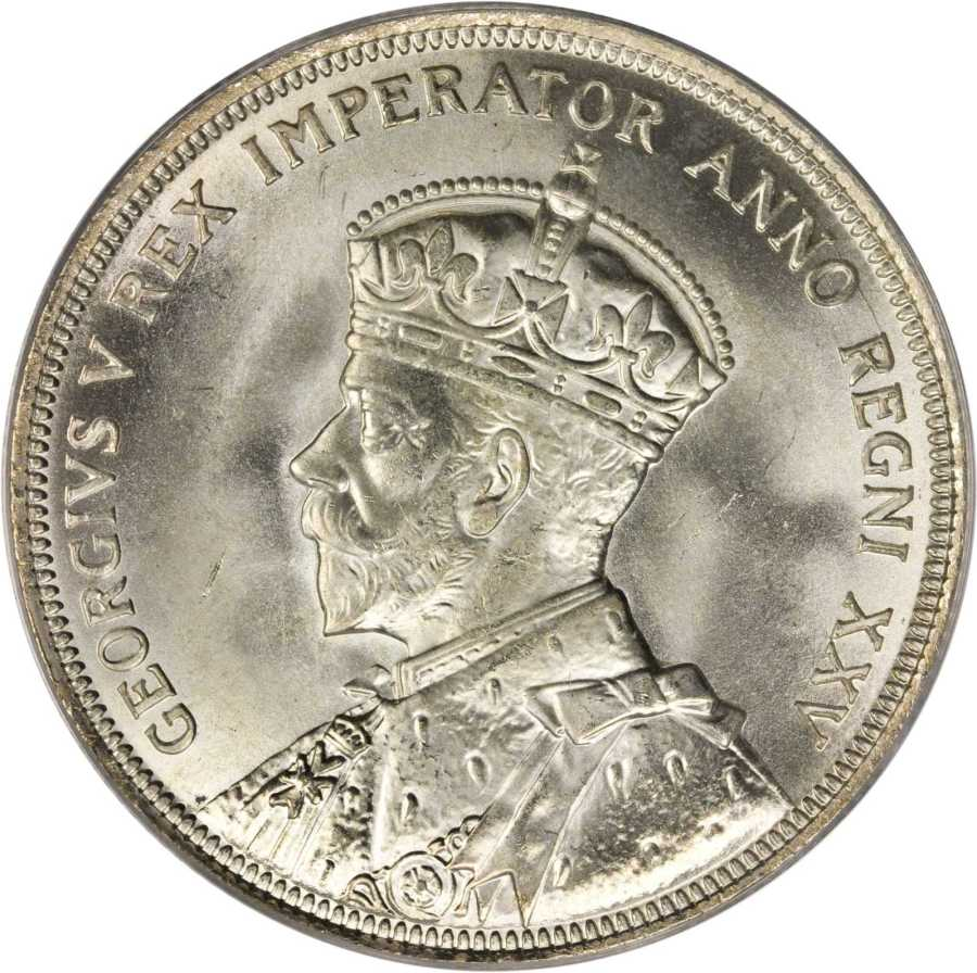 Canadian Silver Voyageur Dollar 1935 King George V