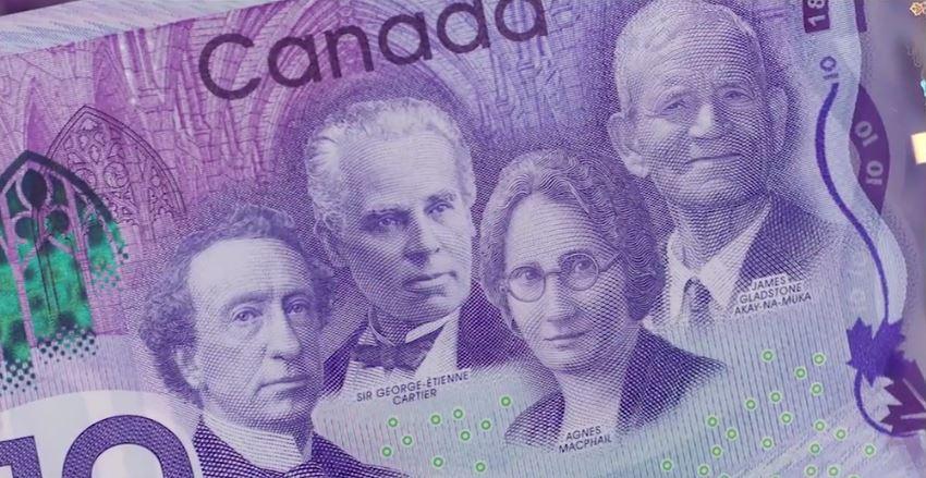 2017 Ten Dollar Note