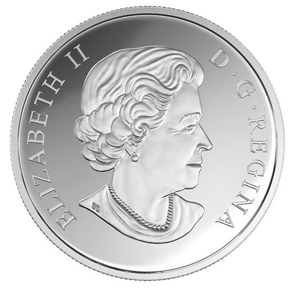 Queen Elizabeth II on the obverse