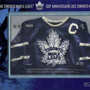 Toronto Maple Leaf Stamp