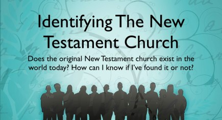 Indentifying The New Testament Church