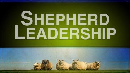 Shepherd Leadership Title Slide