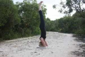 Picture of headstand