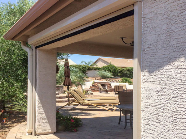 high wind outdoor solar shades