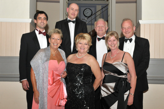 Members of the North Somerset Business Club Charity Ball Committee