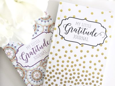 happy and positive life with gratitude journals