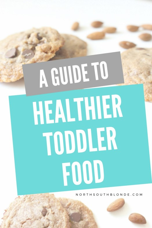 free guide to healthier toddler food