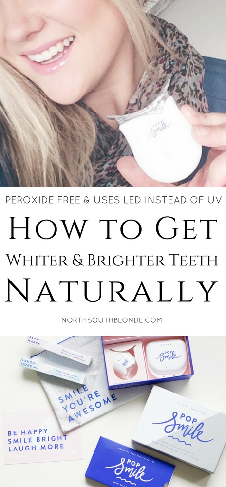 How to Get Whiter and Brighter Teeth Naturally (Pop Smile Review)