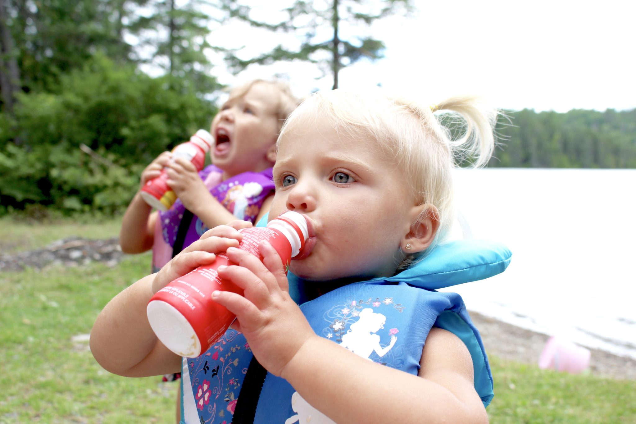Sharing tips for taking away baby bottles and getting your child or toddler to start drinking from a cup, sippy cup, or anything other than a nipple. Motherhood | Parenting | Weening | Babies | Toddlers | Children | Feeding | Raising Kids |