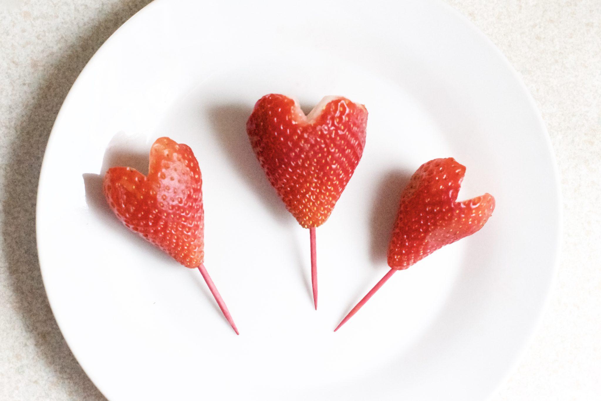 Chocolate Strawberry Valentine's Day Hearts (Vegan, Gluten-Free)