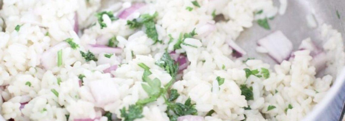 Chipotle Cilantro Lime Rice (Gluten-Free)