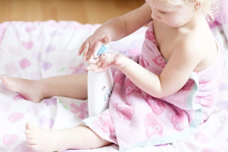 How to Moisturize Your Baby's Dry Skin with Baby Dove