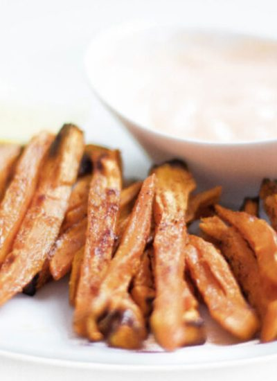 Crispy Oven-Baked Sweet Potato Fries (GF, Vegan, Paleo, Whole 30)