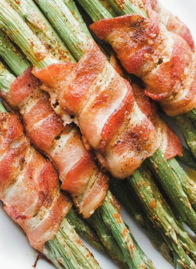Paleo and Whole 30 Bacon Wrapped Asparagus