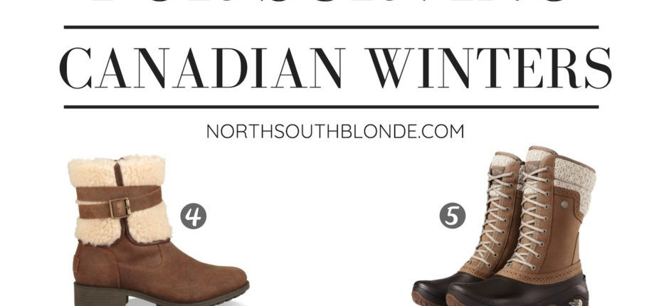 Winter Boots for Surviving Canadian Winters – Women's Fashion
