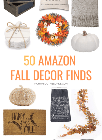 From decorative pumpkins to wreaths and cozy mugs for the campfire, here is your Amazon shopping guide to everything fall! Autumn | Fall Decor | Thanksgiving Decor | Mugs | Wreaths | Doormats | Baskets | Signs | Serving Trays | Pillows | Throws | Pumpkins | Rustic | Farmhouse | Storage | Pumpkin Mugs | Leaves | Kitchen | Dining |