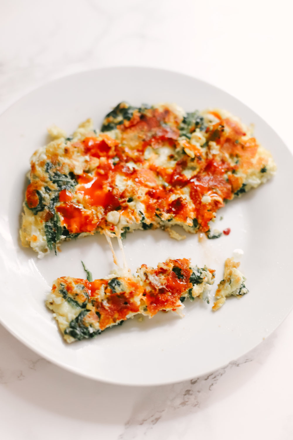 An egg frittata naturally low in carbs and keto friendly. A quick breakfast for every morning or after intermittent fasting, as it will aid in weight loss. Ketogenic | Fried Egg | Omelette | Spinach and Eggs | Spinach and Cheese | Breakfast | Brunch | Gluten-Free | Low carbs | Atkins | Easy | Weight Loss | Burn Fat | Healthy Recipes | Veggies |