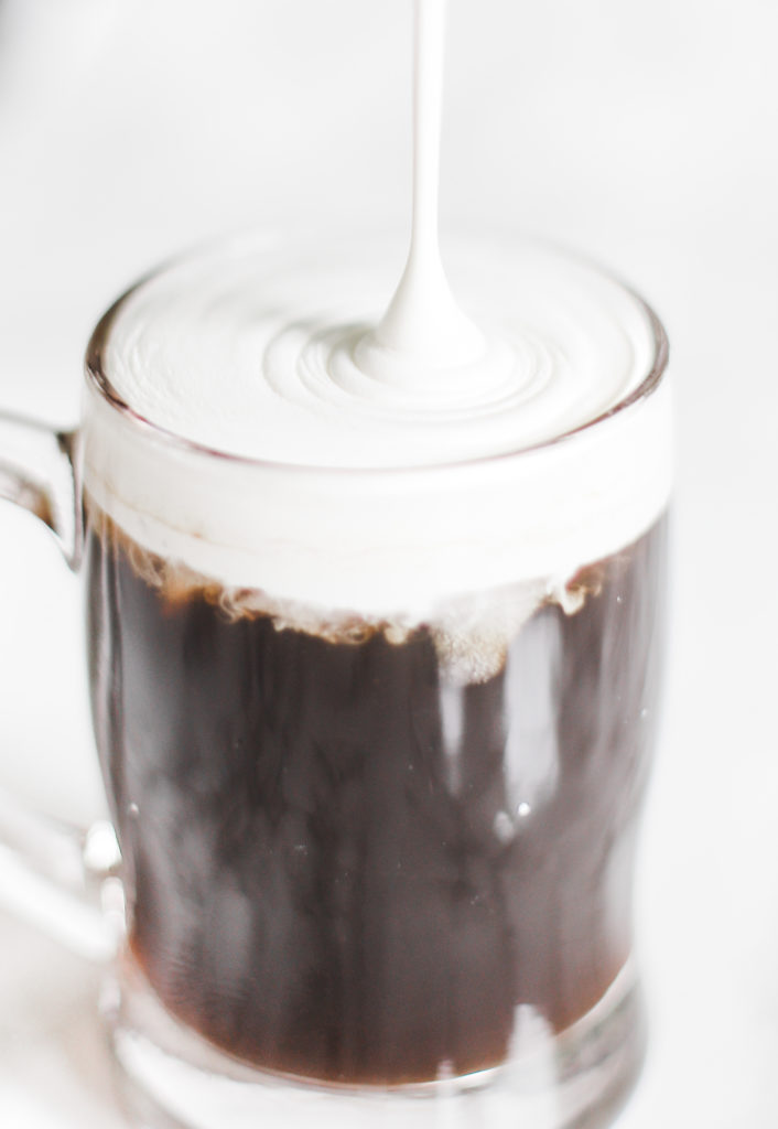 Keto instant iced coffee is sugar free and refreshing for summer! Creamy, quick and easy, made with heavy whipping cream and MCT powder to keep you in ketosis and fat burning mode. Iced Coffee Made With Instant Coffee | Keto Iced Coffee | Low Carb | Keto Drinks | Keto Coffee | Iced Coffee Recipe | Whipping Cream | MCT Powder | Ketogenic | Ketosis | Breakfast | Dessert | Summer | Easy | Quick | Summer Drink Recipe |