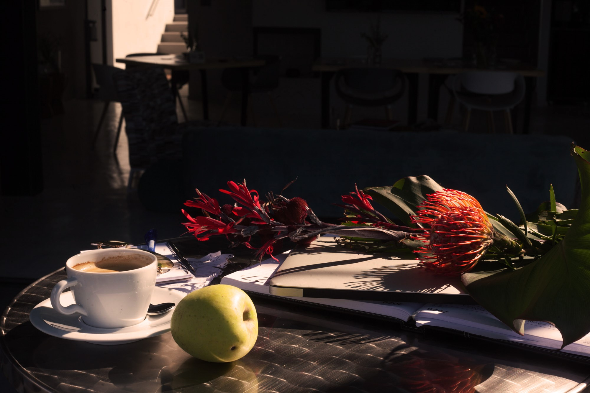 Umhlanga Winter Sun, filled with Fruity aromas, roasted coffee and sweet-salty flavours.