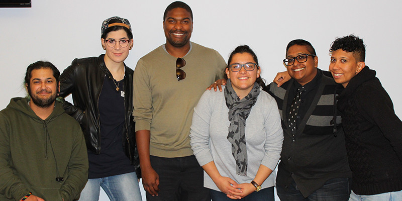 Six Newburgh LGBTQ Center members