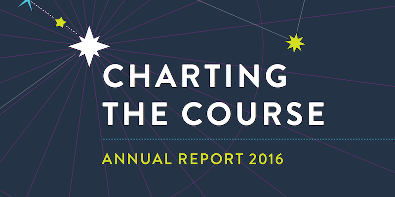 Charting the Course – 2016 Annual Report