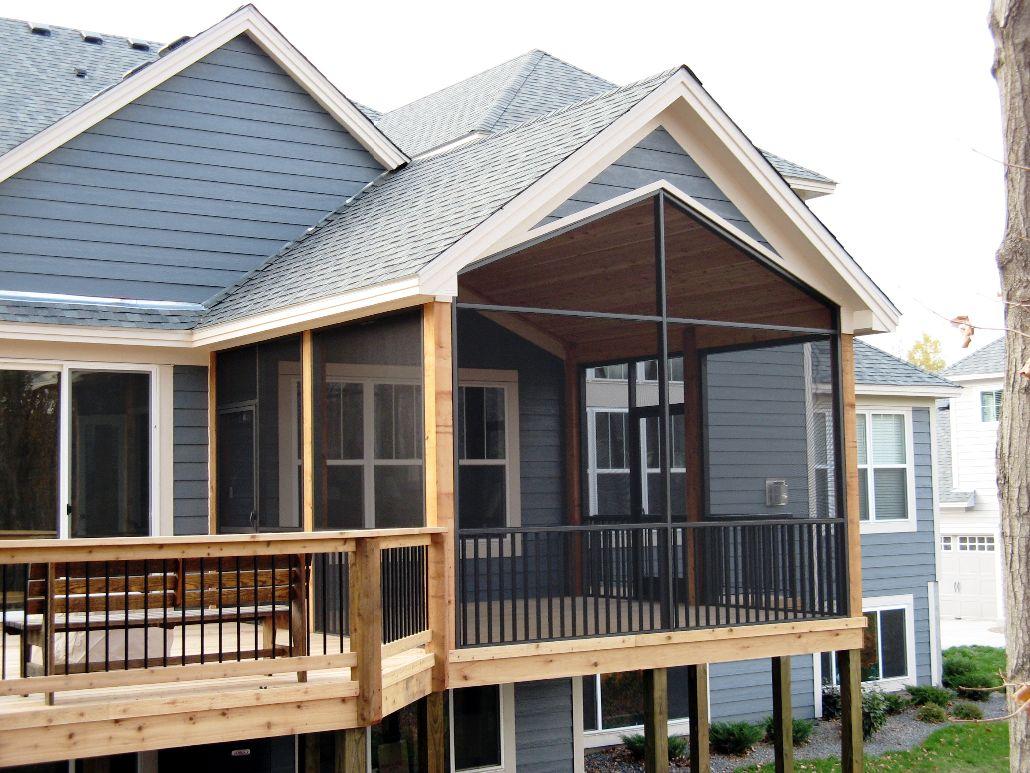 Screen Porch Addition Ideas