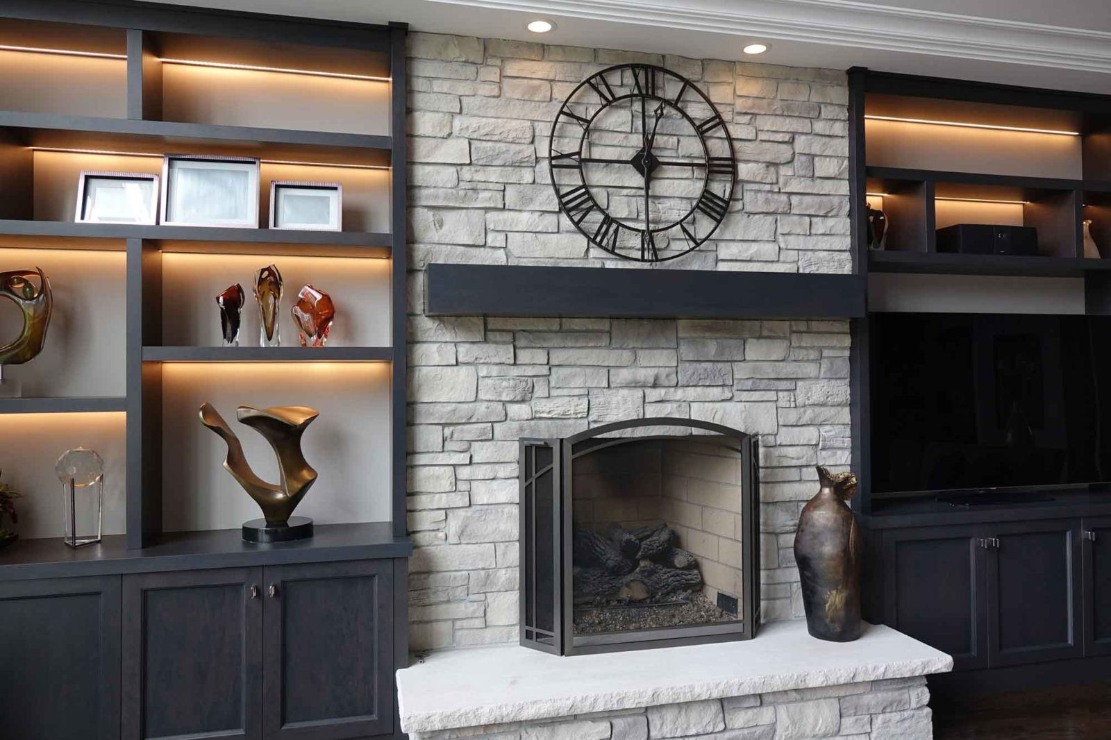 Stone Fireplace Design Galleries
