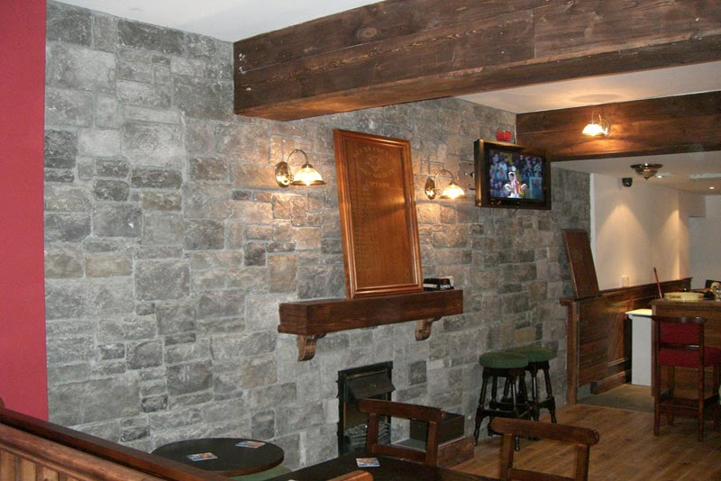 North Star Stone Top Most Stone Fireplace