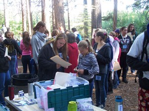 Diabetes Education at Camp McCumber at Lake McCumber near Shingletown.