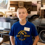 Austin McCoy Takes His Love of Trains to Town – Meet Paradise Depot  Museum's Youngest Docent