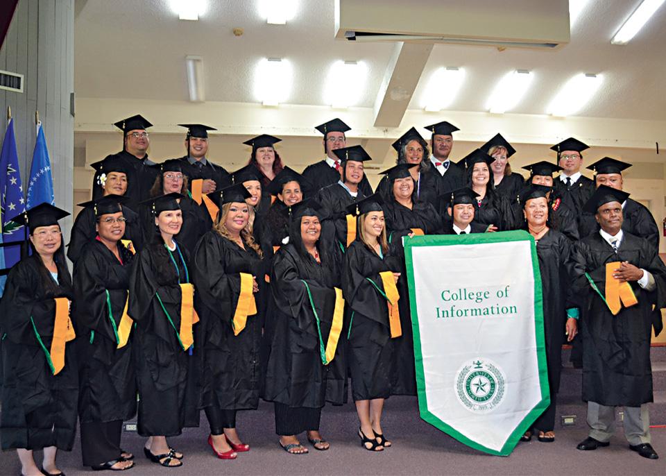 Pacific Islands Graduates The North Texan
