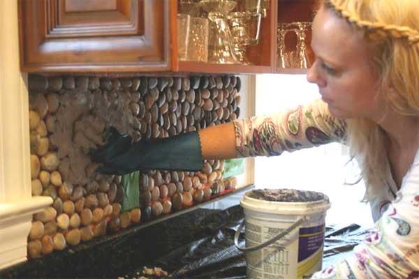 Diy rustic kitchen backsplash. what are today s kitchen design ...