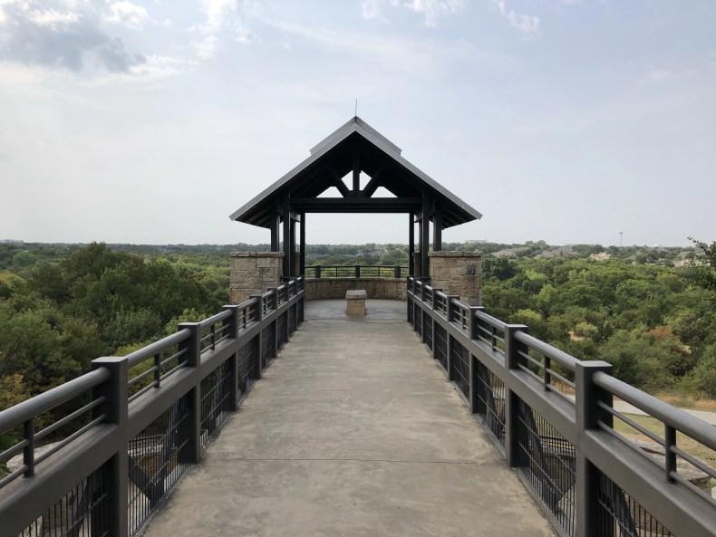 Top of Arbor Hills Observation Tower