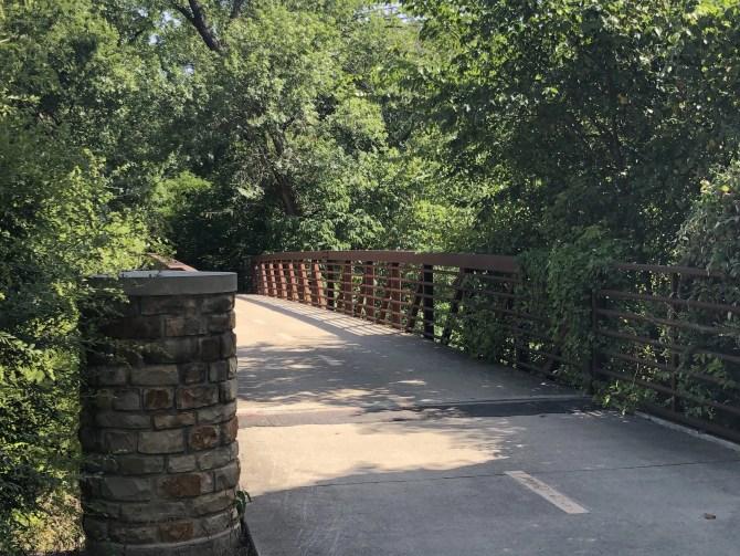 River Legacy: Bridge on concrete trail