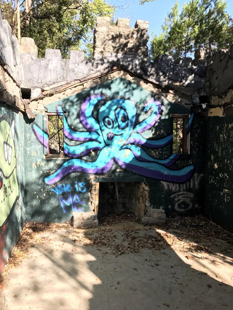 Turner Falls: Graffiti in the Castle