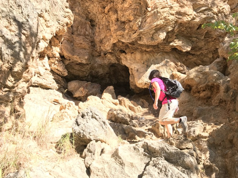 Turner Falls: Small Cave off Honey Creek