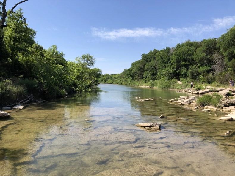 Paluxy River  at Dinosaur Valley State Park