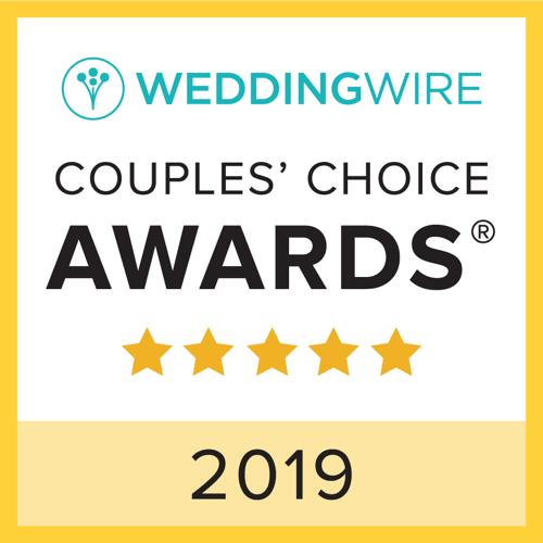 badge WeddingWire couple's choice award 2019