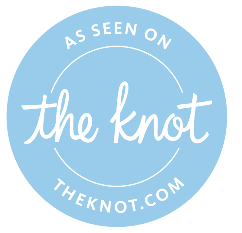 wedding bar services dallas As Seen on the Knot logo